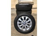 """New Mercedes Vito 16"""" Alloys With New Tyres"""