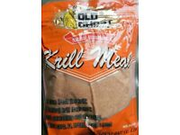 Old Ghost Krill Meal Ground Bait (x 10 Packets) Attractant Match Carp Catfish Fishing