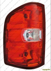 Tail Light Driver Side Chevrolet Silverado 2007-2013