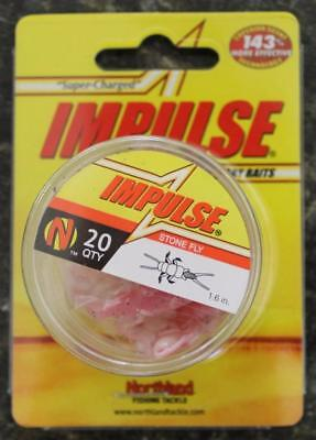 Stone Fly IMPULSE Baits IBSF1D-61 Northland Fishing Pink White 5 PACKS=100 BAITS