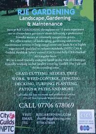 RJE GARDENING SERVICES Landscape, Gardening and Maintenance