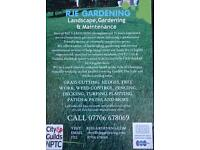 RJE GARDENING SERVICES Landscape, Gardening and Maintenance
