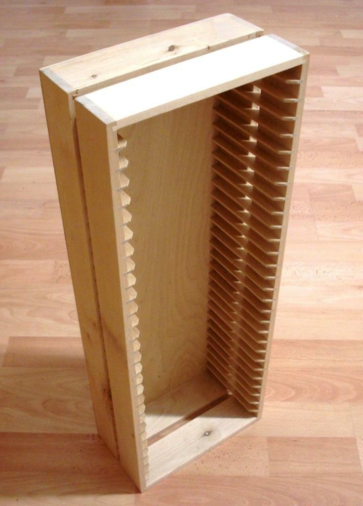 IKEA BOALT DVD Regal aus Holz Birke hell natur Massivholz DVD Aufbewahrung *TOP*