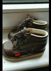 Baby Boy's Brown Kickers