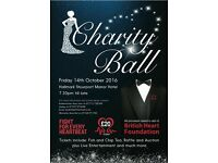 Charity ball for British heart foundation