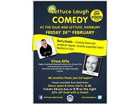 Comedy Night at Slug & Lettuce Didsbury with Vince Atta and Barry Dodds