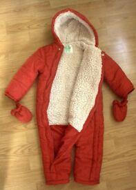 BHS Unisex Snowsuit (18-24 months)