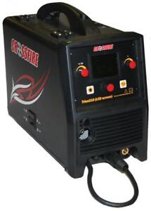 New Crossfire TRION 210 LCD TIG/MIG/Stick Welder 115/230V