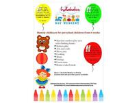 Childcare - preschool children