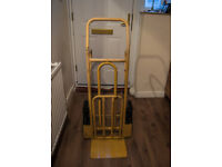 Lyte 250kg Heavy Duty Stair Climber Sack Truck - Folding Toe - Yellow
