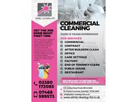 FOR ALL YOUR AFTER BUILDERS CLEAN & OFFICE CLEANING