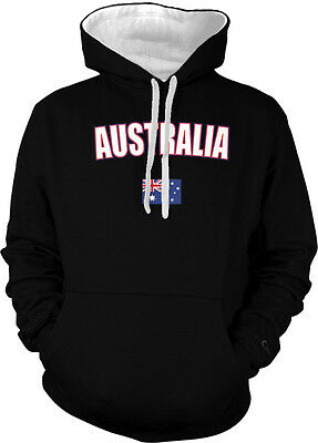 Australia Country Pride Land Down Under Outback Desert 2-tone Hoodie Pullover