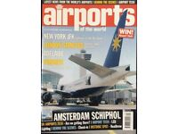 67 ISSUES OF AIRPORTS OF THE WORLD MAGAZINE FOR SALE