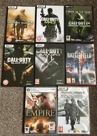 8 war pc games