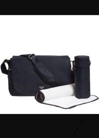 Armani baby changing bag