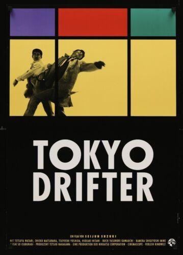 TOKYO DRIFTER German A1 movie poster 1988 SEIJUN SUZUKI TETSUYA WATARI NM rolled