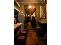 Cook/KP required for bar and restaurant in Stoke Newington