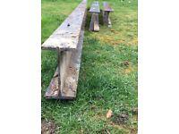 Rsj/I beams for sale £70