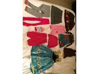 Bundle of 47 clothes - Oilily, Catamini, Cakewalk, Mim Pi, Me too, Monsoon, Next etc