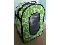 Sky Pet Products Green Parrot Travel Bag
