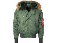 Alpha Industries Men's N2B extreme weather Jacket