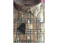 Burberry shirt short sleeved