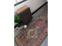 ESZTER - Antique Traditional Vintage Persian Wool 210x117cm Handmade Carpet Rugs