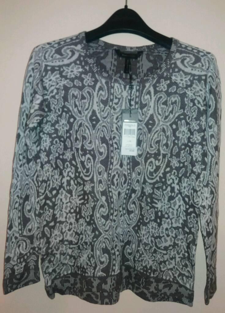 a6358df273cc54 Ladies designer Grey sweater