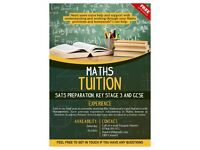 Maths Tutor Years 5-11. Key Stage 2 SATs preparation, Key Stage 3 and GCSE