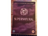 Supernatural dvd's
