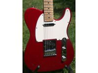 Fender Telecaster MIM Candy Apple Red Maple Neck