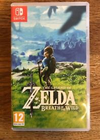 The Legend of Zelda Breath of the Wild for Nintendo Switch