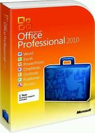 Microsoft Office 2010 Professional Plus Genuine 32bit&64bit