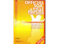 English Official SQA Past papers with Answers - 2012 - Standard Grade / Foundation / General