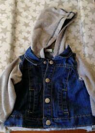 Baby jeans jacket. Blukids (Italian brand)