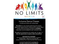 Inclusive Dance Classes for Adults and Children with Complex Needs