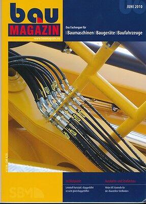 BauMagazin Juni 2010 (Fachorgan für Baumaschinen)