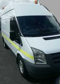 Transit high top medium wheelbase 09 built in compressor and generator excellent condition long mot