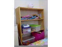 Small bookcase, £8