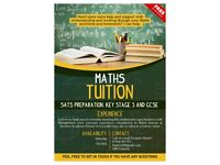 Summer Maths Tuition Years 5-12 Key Stage 2 SATs preparation, Key Stage 3, GCSE, AS modules