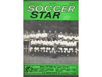 Soccer stars magazines
