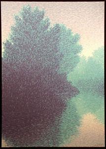 Scott-Nellis-Summer-Reflections-I-Signed-Numbered-Serigraph-impressionist-lake