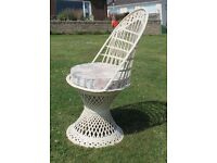 Patio or Conservatory Furniture Set - Unique Table & Chairs Woven fibre glass furniture