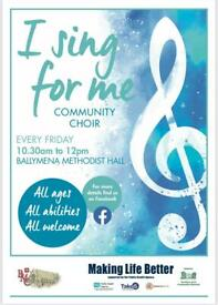 I Sing For Me Community Choir
