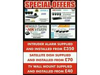 cctv and intruder Alarm