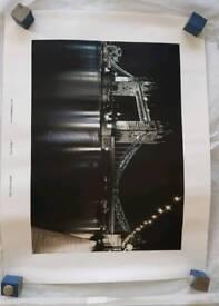 Brand new canvas tower bridge