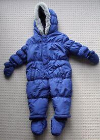Boy's Snowsuit - Boots - 6-9months