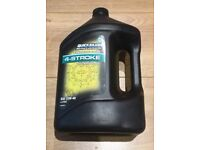 Quicksilver Synthetic 4-Stroke Outboard Oil 25W40 - 4 Litres