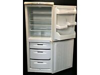 HOTPOINT USED FROST FREE FRIDGE FREEZER + FREE BH ONLY POSTCODES DELIVERY & 3 MONTHS GUARANTEE
