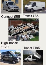 First Choice rubbish removel services